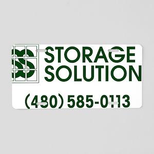 Storage Solutions Aluminum License Plate
