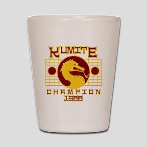 Kumite Shot Glass