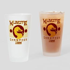 Kumite Drinking Glass