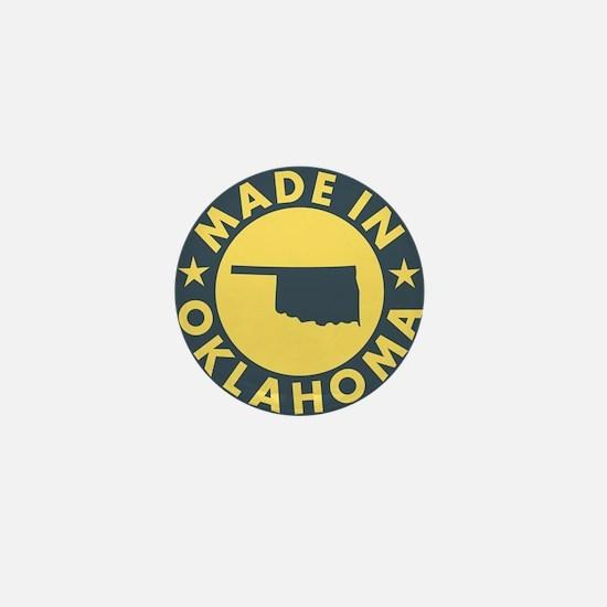 Made-In-OKLAHOMA Mini Button