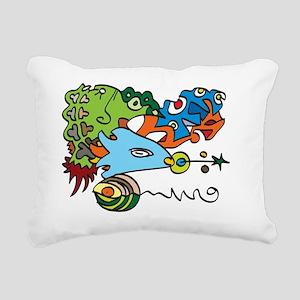 fishhead Rectangular Canvas Pillow