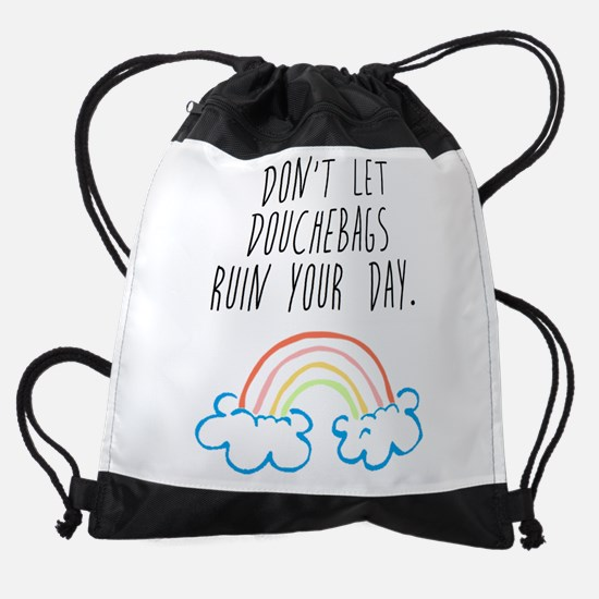 Douchebags Drawstring Bag