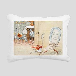 nursery Hey.diddle.diddl Rectangular Canvas Pillow
