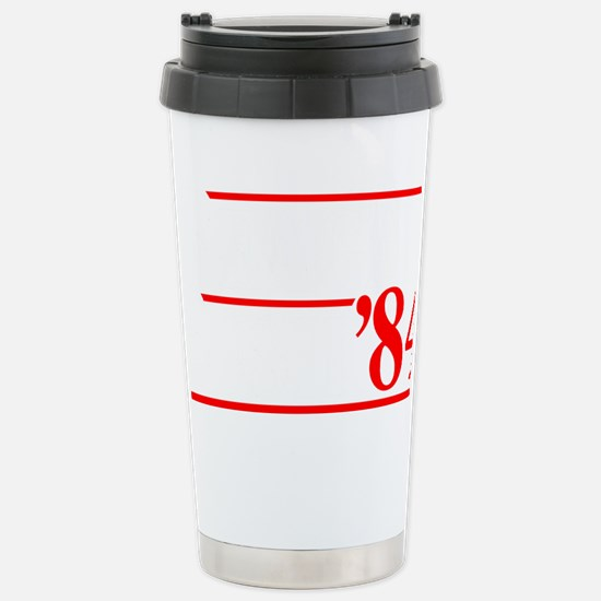 Reagan Bush 84 Stainless Steel Travel Mug
