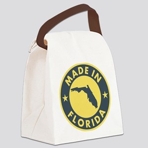 2-Made-In-fLORIDA Canvas Lunch Bag