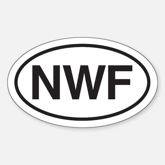 """""""NWF"""" International Vehicle Code Decal"""