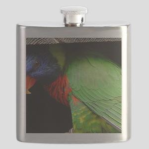 Parrot Calendar Flask