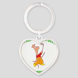 teeing60 Heart Keychain
