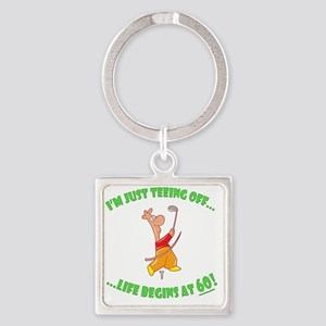 teeing60 Square Keychain