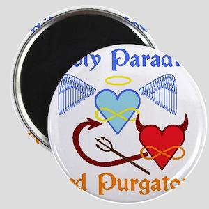 2-poly paradise  purgatory logo flier versi Magnet
