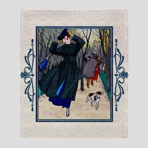 IPAD 10 OCT GDBT BRISSAUD Throw Blanket