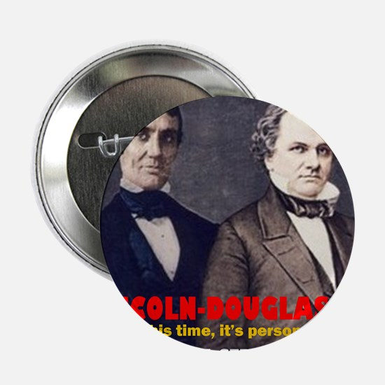 "ART LINCOLN DOUGLASS IIIb 2.25"" Button"