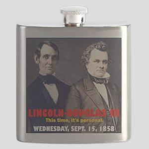 ART LINCOLN DOUGLASS IIIb Flask