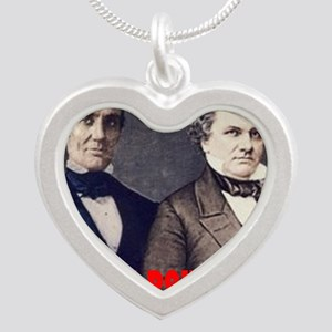 ART LINCOLN DOUGLASS IIIb Silver Heart Necklace