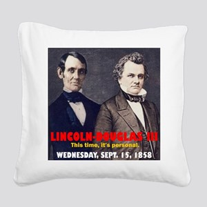 ART LINCOLN DOUGLASS IIIb Square Canvas Pillow