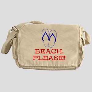 BEACH, PLEASE! Messenger Bag