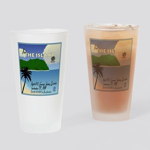 travelposter Drinking Glass
