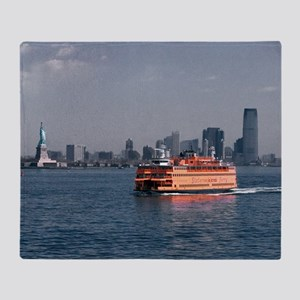 (12) Staten Island Ferry Throw Blanket