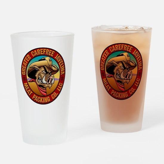 Greater Carefree Javelina Drinking Glass