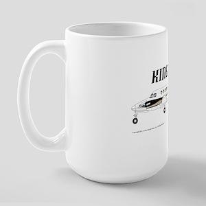 King Air 200 Aircraft Large Mug