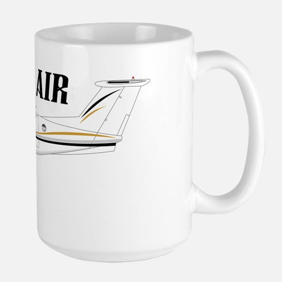 King Air 200 Aircraft Large Mug