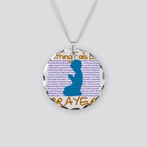 Nothing Fails Like Prayer fo Necklace Circle Charm