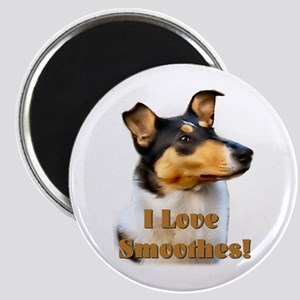 I love Smooth Collies Magnet
