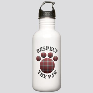 Respect The Paw Stainless Water Bottle 1.0L