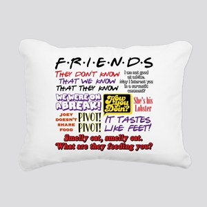 Friends Quotes Rectangular Canvas Pillow