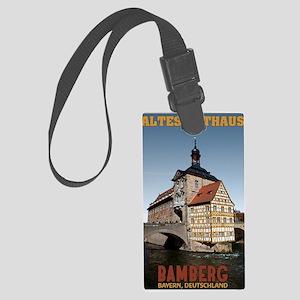 Bamberg Altes Rathaus Large Luggage Tag