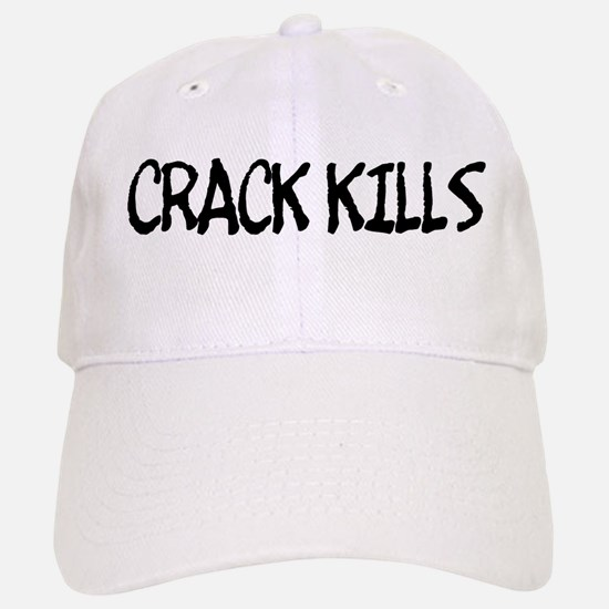 """Crack Kills"" Baseball Baseball Cap"