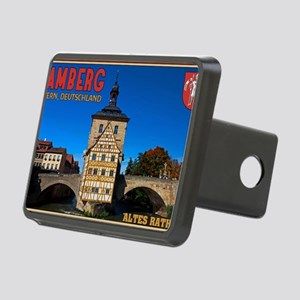 Bamberg Altes Rathaus with Rectangular Hitch Cover