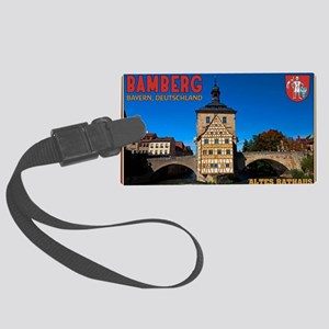 Bamberg Altes Rathaus with CoA Large Luggage Tag