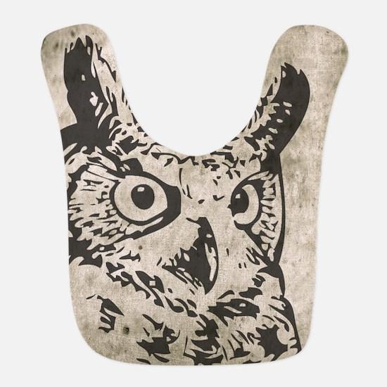 Old World Owl Bib