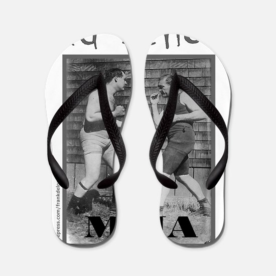mmaOldSchool1 Flip Flops