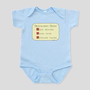 Geocacher's Creed Infant Bodysuit