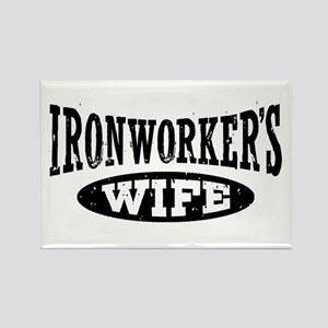 Ironworker's Wife Rectangle Magnet