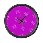 Fucshia Pink Ribbons Circle Join 32 Large Wall Clo