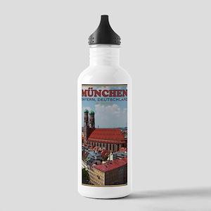 Munich Frauenkirche Po Stainless Water Bottle 1.0L