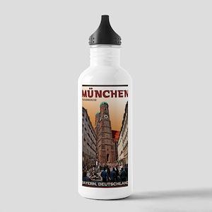 Munich Frauenkirche Stainless Water Bottle 1.0L