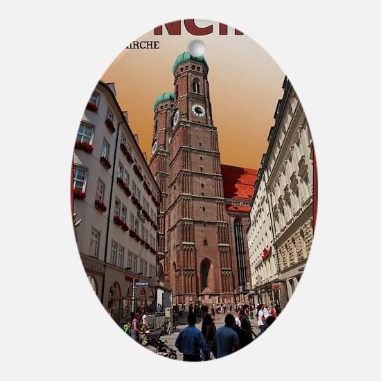 Munich Frauenkirche Oval Ornament