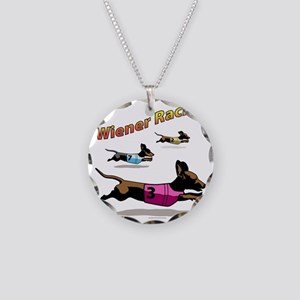 wiener_racing Necklace Circle Charm