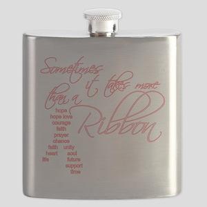 More Than A Ribbon Flask