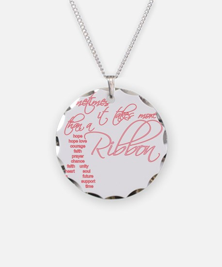 More Than A Ribbon Necklace