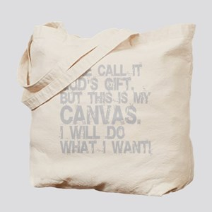 i-will-do-canvas-grey Tote Bag