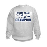 Swim Champ Kids Sweatshirt