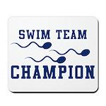 Swim Champ Mousepad