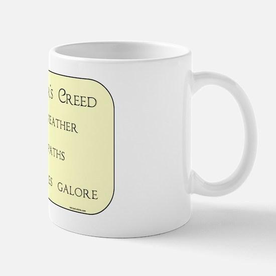 Geocacher's Creed Mug