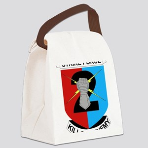 DUI-2ND IN DIV-2 BCT Canvas Lunch Bag