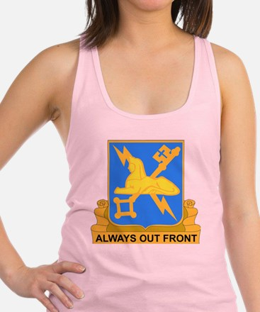 DUI-572ND MILITARY INT COY Racerback Tank Top